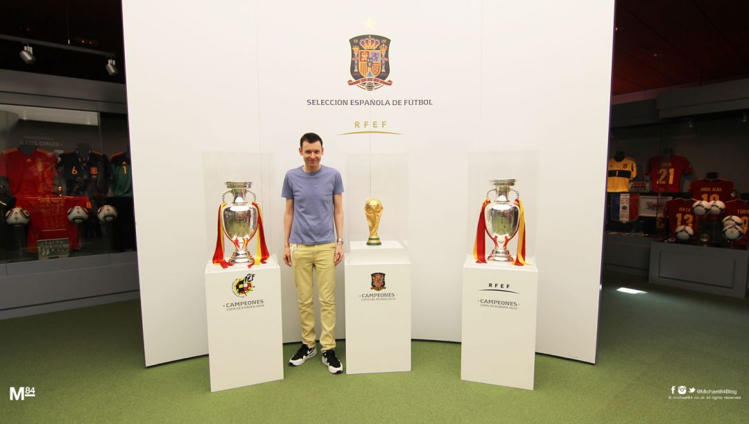 Me With The Euro 2008, Euro 2012 and World Cup trophies