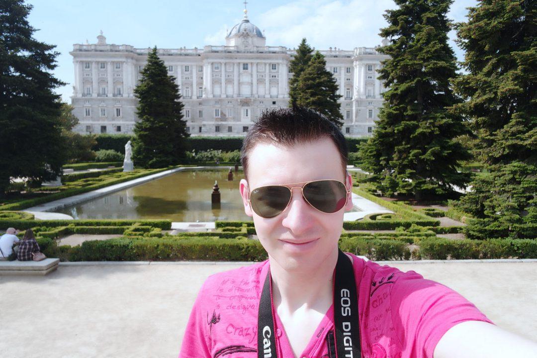 I went to Madrid! The Royal Palacio