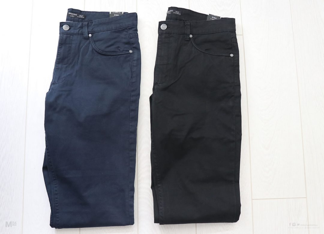 MANGO Man Chinos - New In My Wardrobe - Navy and Blue options
