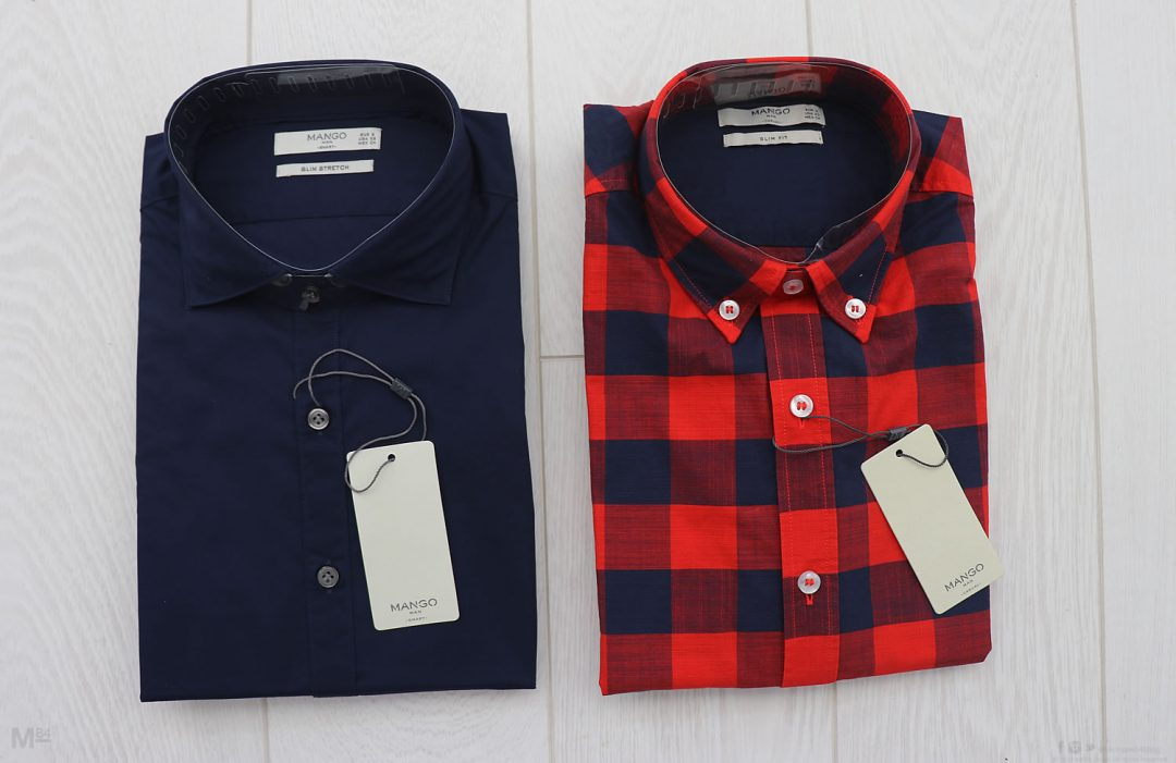 Mango Man Shirts From The Summer Sale
