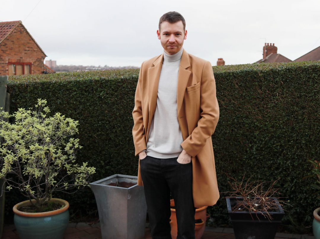 ASOS Roll Neck With Camel Overcoat