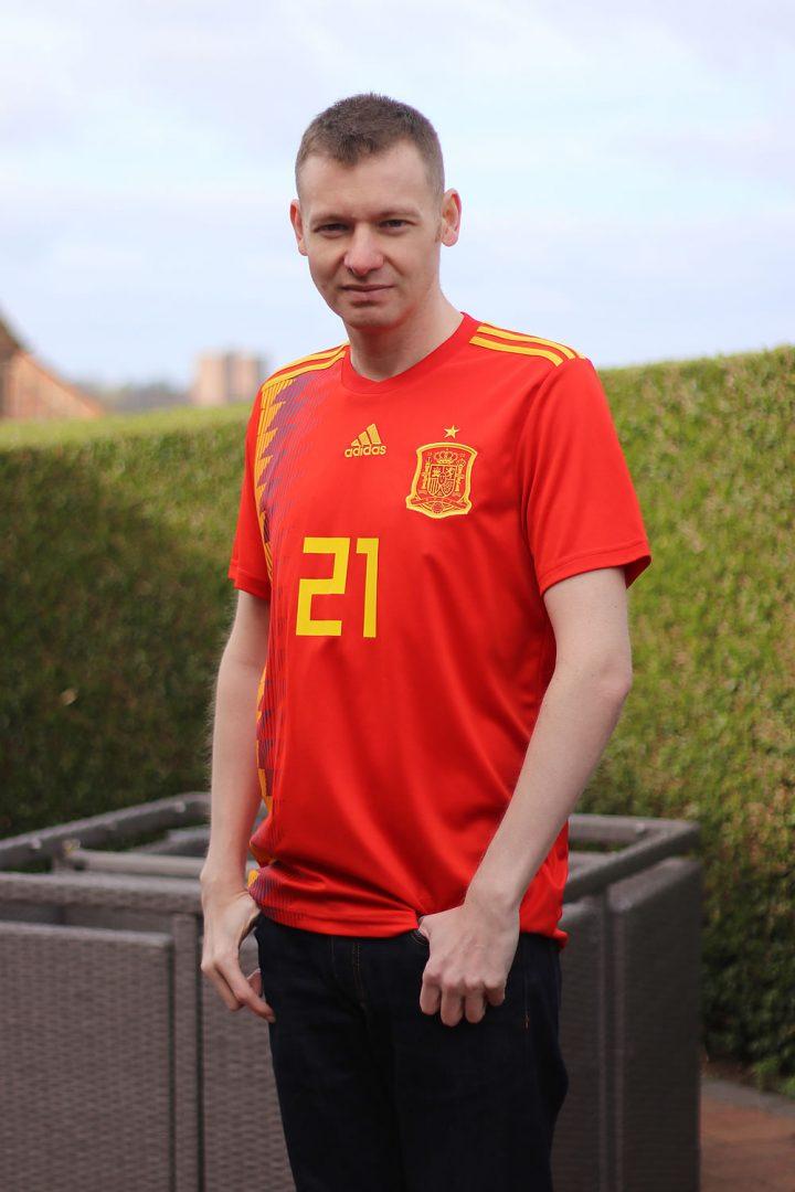 Me Spain Home Shirt 2019