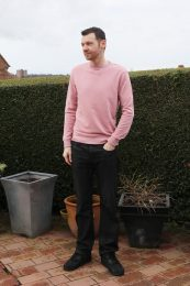 Pink Sweatshirt Trend For Men