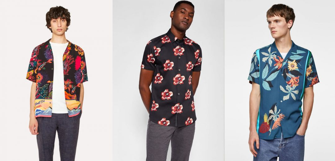 Men's Floral Shirt Trend - Best Of This Summer