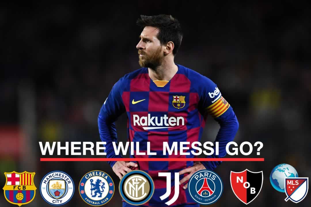 Where Can Lionel Messi Go From Barcelona? (And Will He Leave)