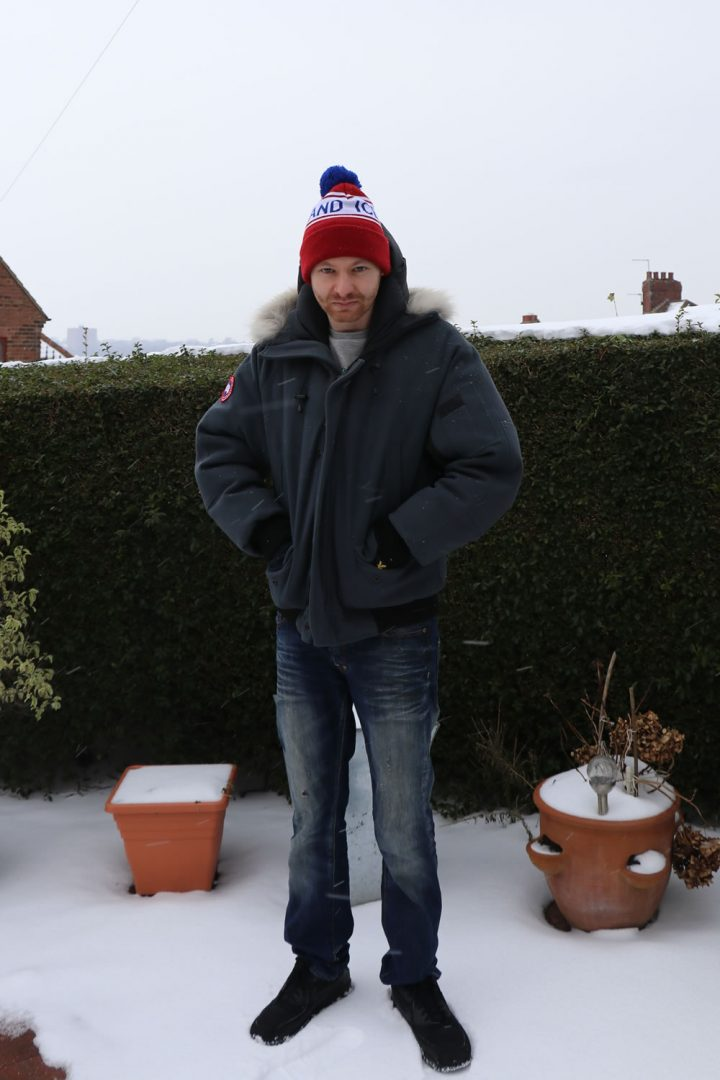 Style Outfit - Canada Goose Coat, Denim Jeans