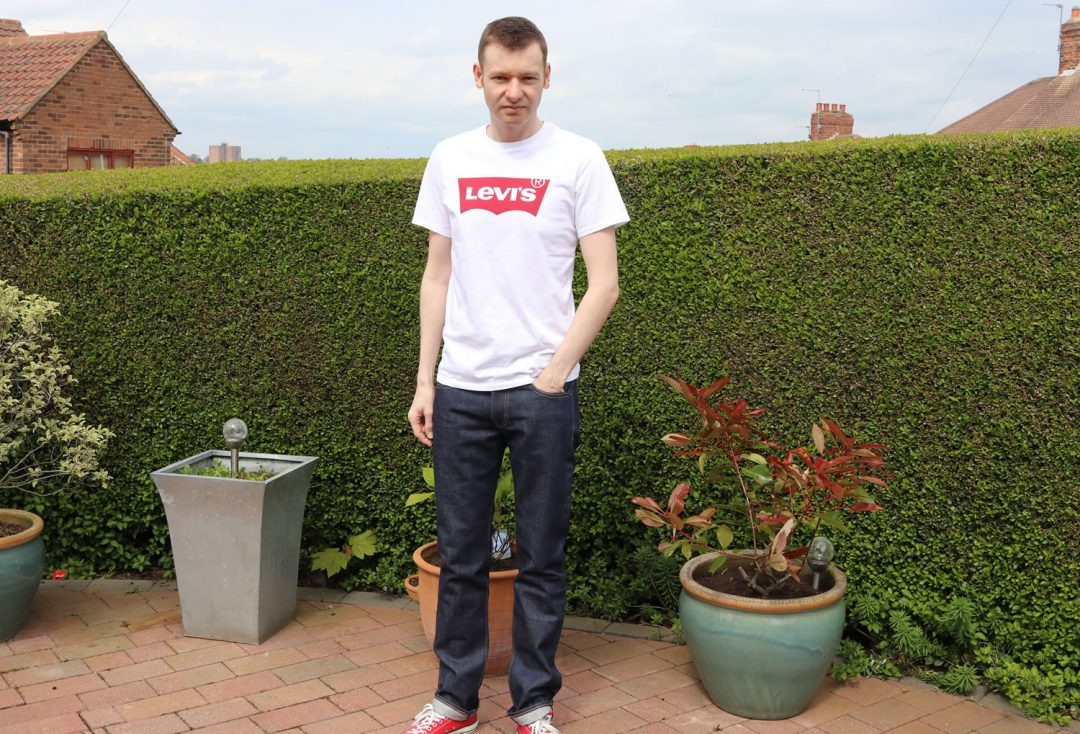 Levi's Classic T Shirt With 511 Jeans