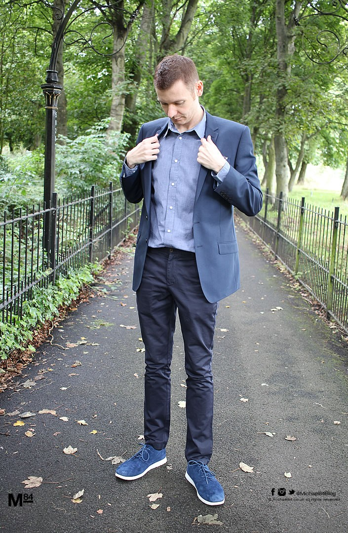 Blue Suit Blue Shoes