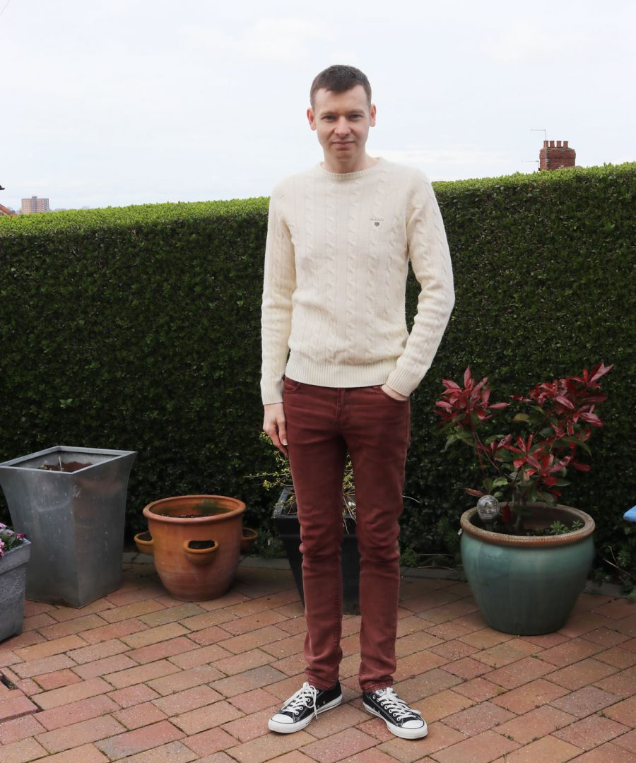 7th April 2017 - Outfit Of The Week: Gant Knit & Cheap Monday Jeans