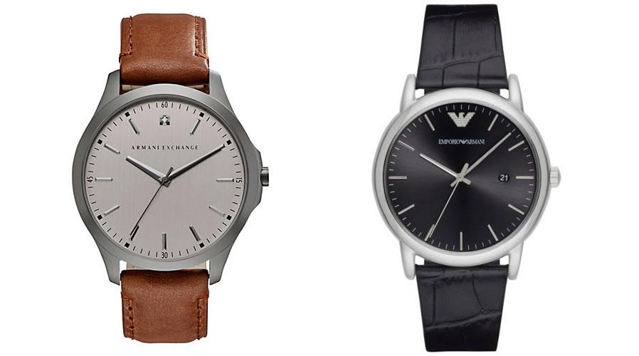 Armani Minimal Style Watch