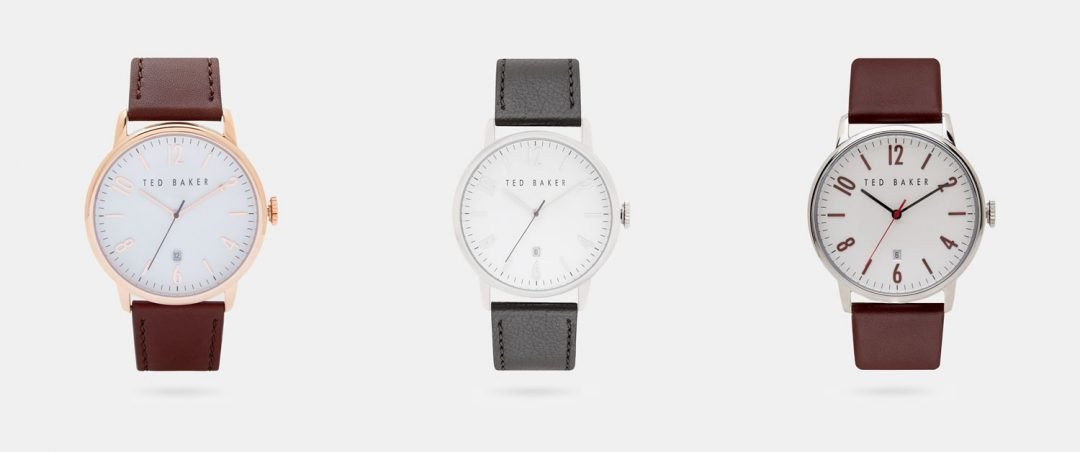 Ted Baker Minimalist Watches