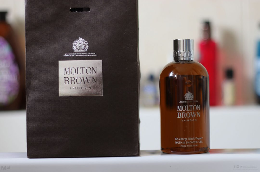 Molton Brown Recharge Black Pepper Shower Gel