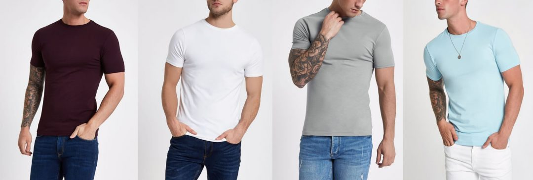 River Island Muscle Fit T Shirts