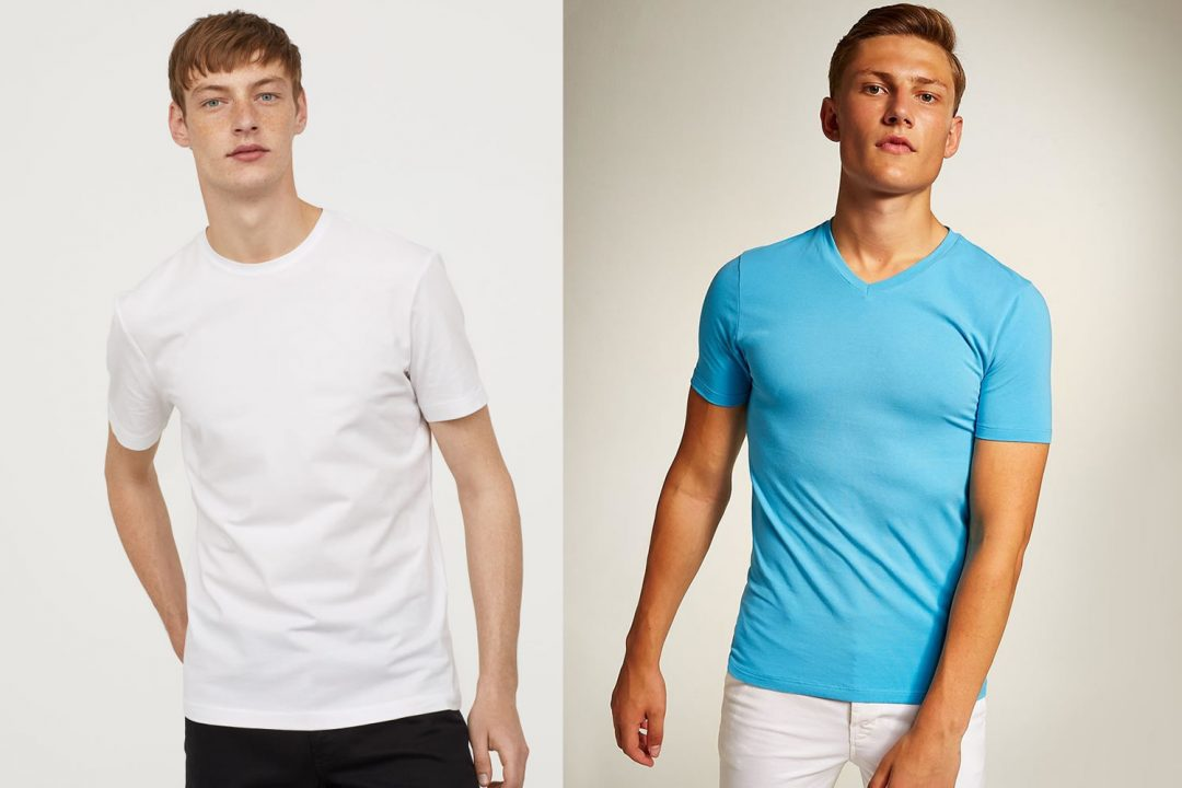 Muscle Fit vs Slim Fit T Shirts