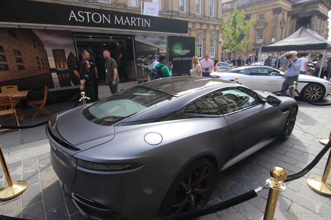 Aston Martin Newcastle on Grey Street At NE1 Car Show