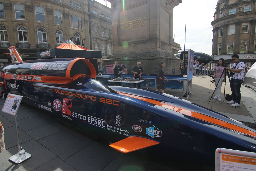 Bloodhound SSC Land Speed Car At the NE1 Car Show - Michael 84
