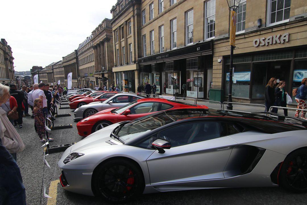 The NE1 Car Show In Newcastle 2018