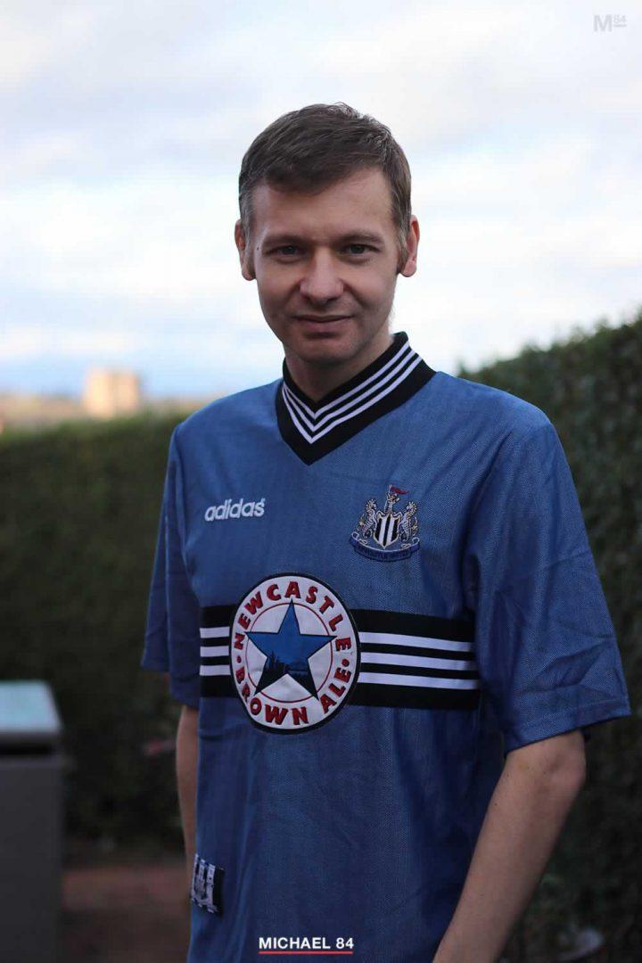 Michael 84 - Football Shirt Friday Newcastle Shirt