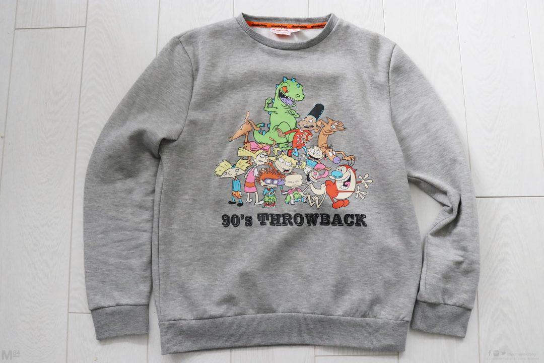 90's Throwback Sweatshirt from Nickelodeon