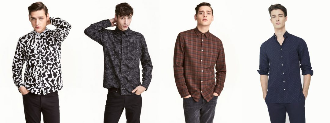 Pattern And Check Going Out Shirts For Guys