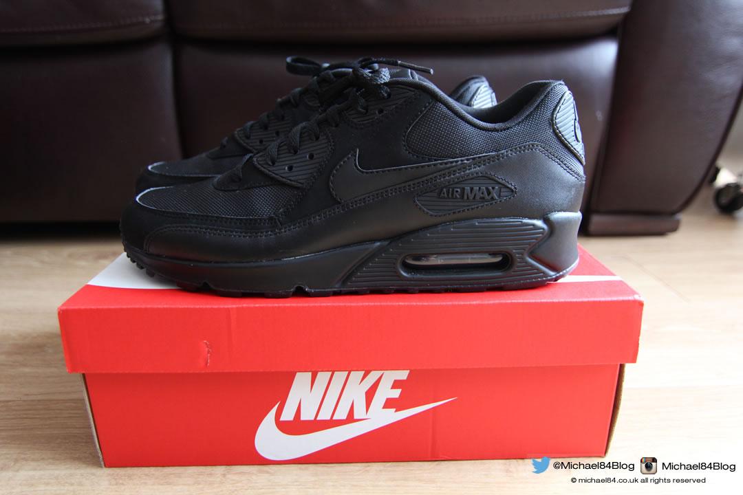 air max 90 black black