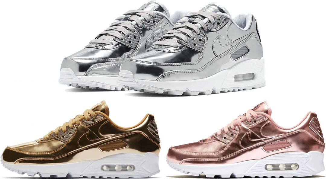 Air Max 90 Medal Pack - Gold, Silver, Bronze