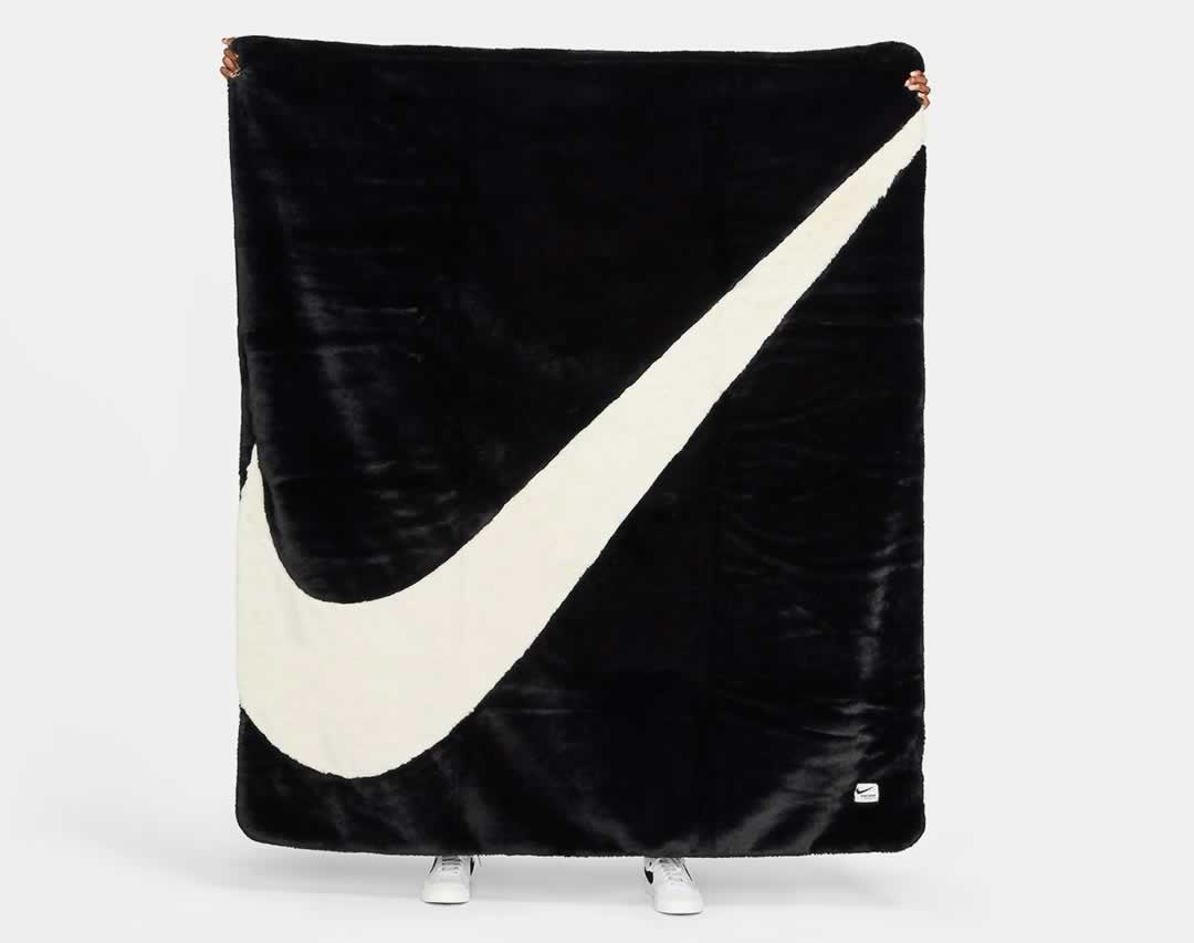 Nike Swoosh Plush Blanket