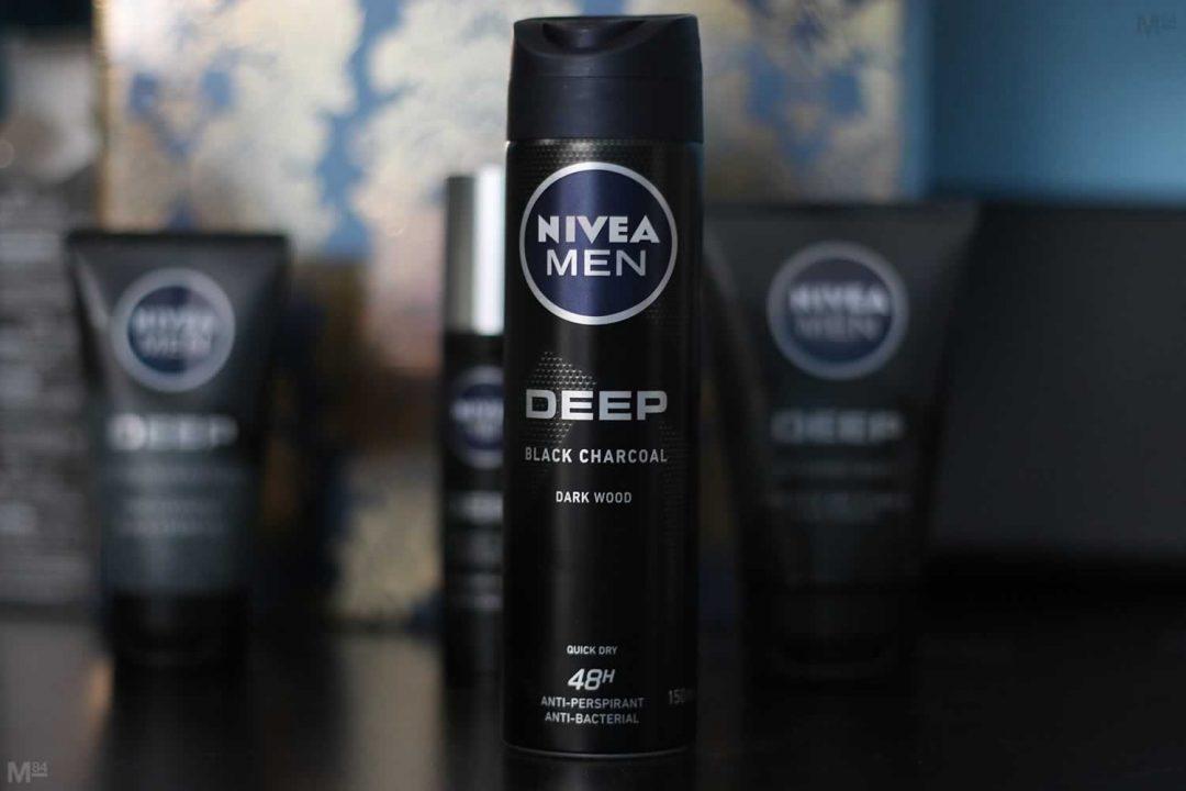 NIVEA MEN Deep Antiperspirant Review