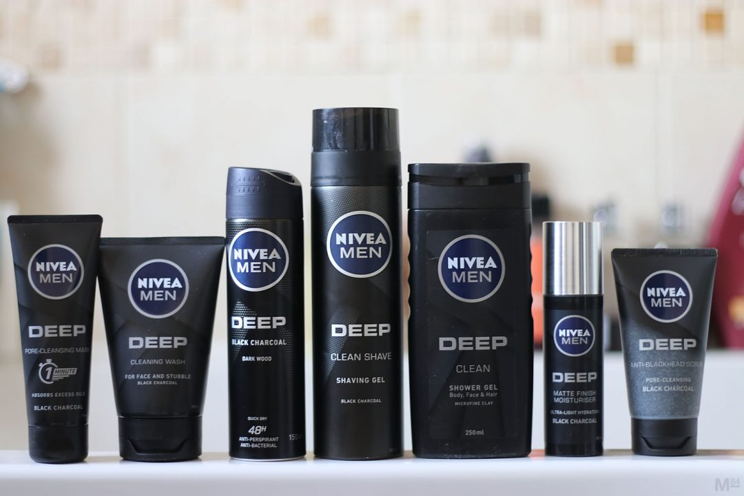 NIVEA Men Deep Grooming Range