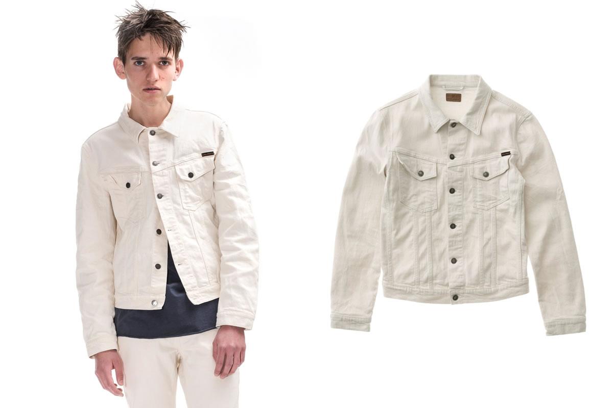 Nudie Jeans Ecru denim jacket