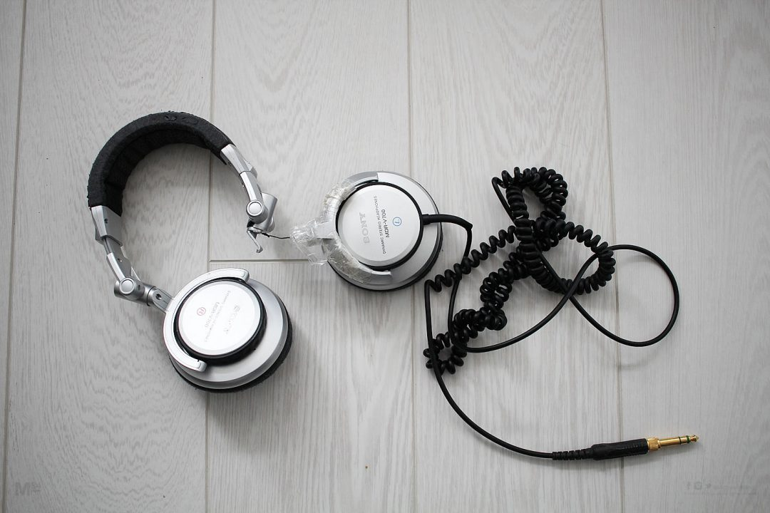 old sony headphones mdr-v700 Have seen better days - discontinued