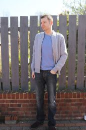Outfit of the week - Bomber Jacket, T-Shirt, Jeans, Brogues