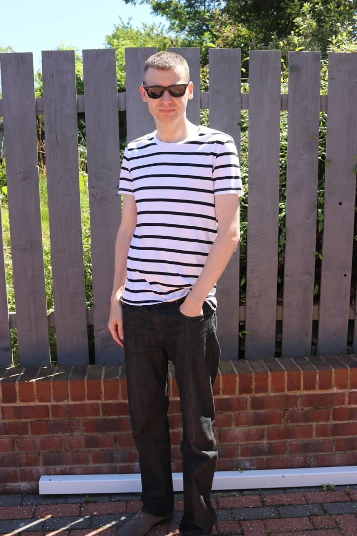Style Post - Outfit Of The Week - Nautical Tee