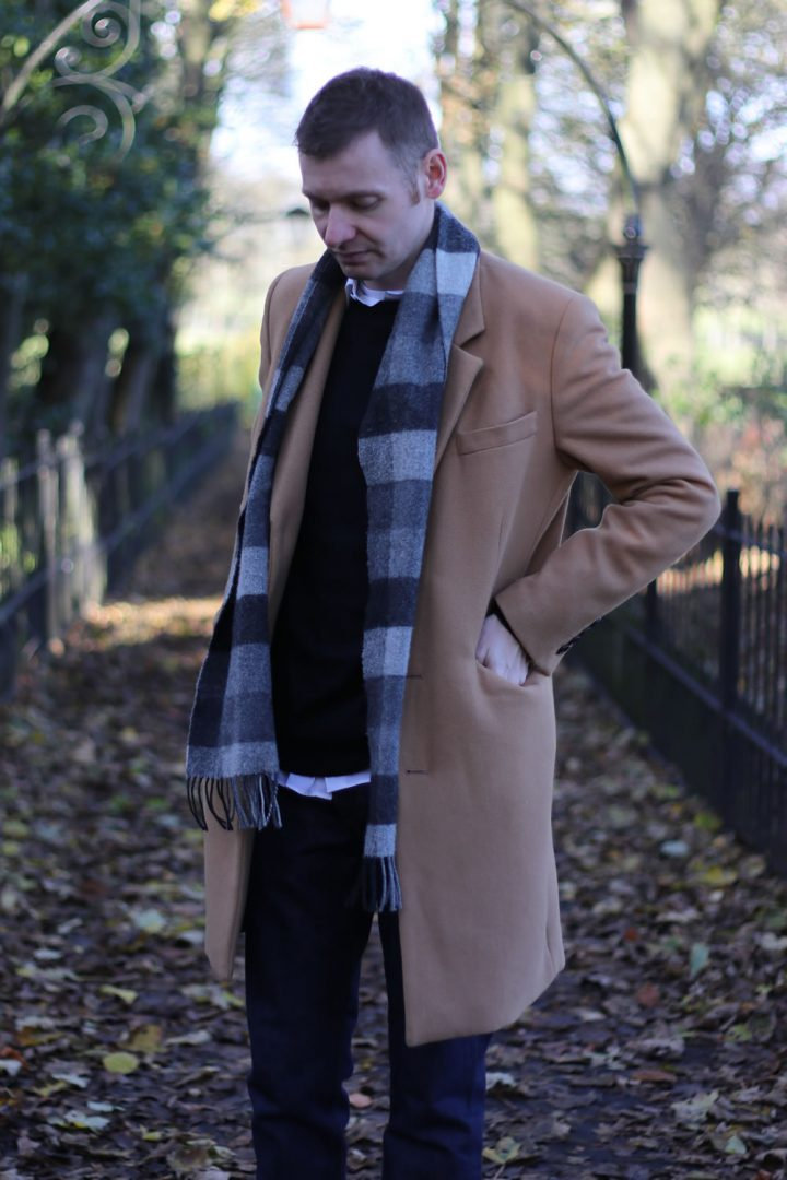 Outfit of the week - Overcoat, Jumper, shirt and jeans
