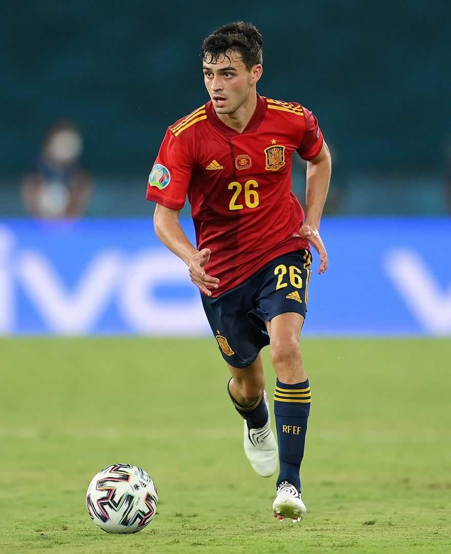 pedri plays well in Spain 0 - 0 Sweden match in euro 2020
