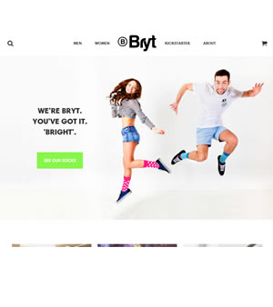 Bryt Socks Feature