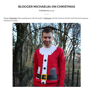 Burton Christmas Jumper Campaign