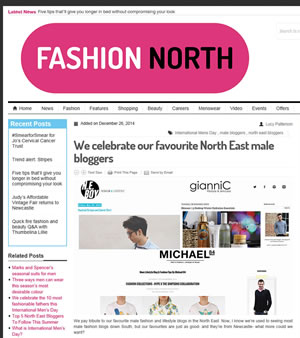 Fashion North Magazine Article
