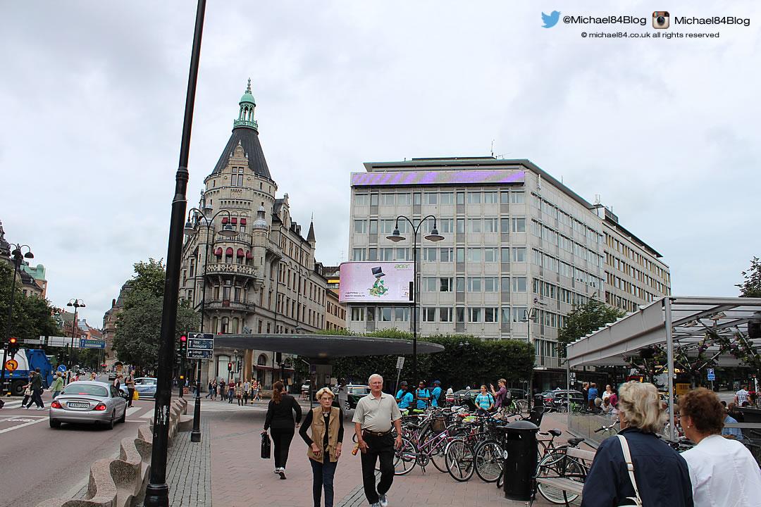 stureplan in stockholm