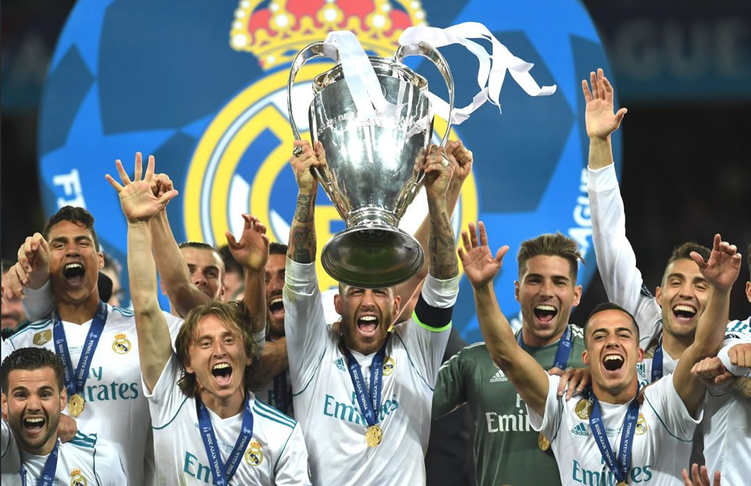 Real Madrid Champions 2018