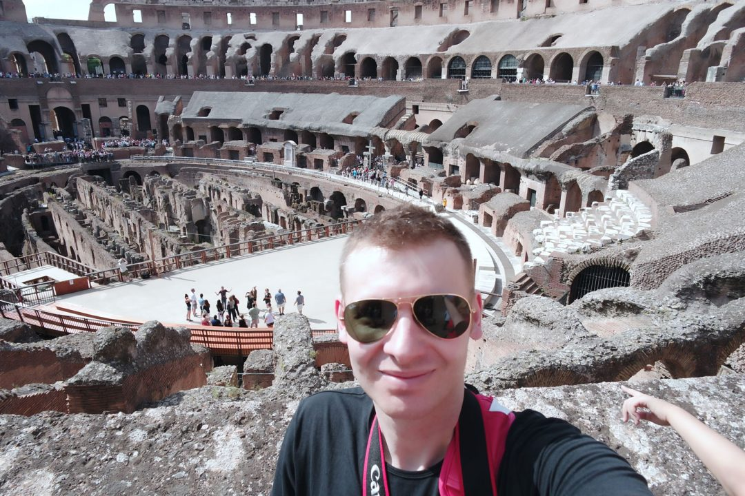 Michael 84 Goes To Rome!