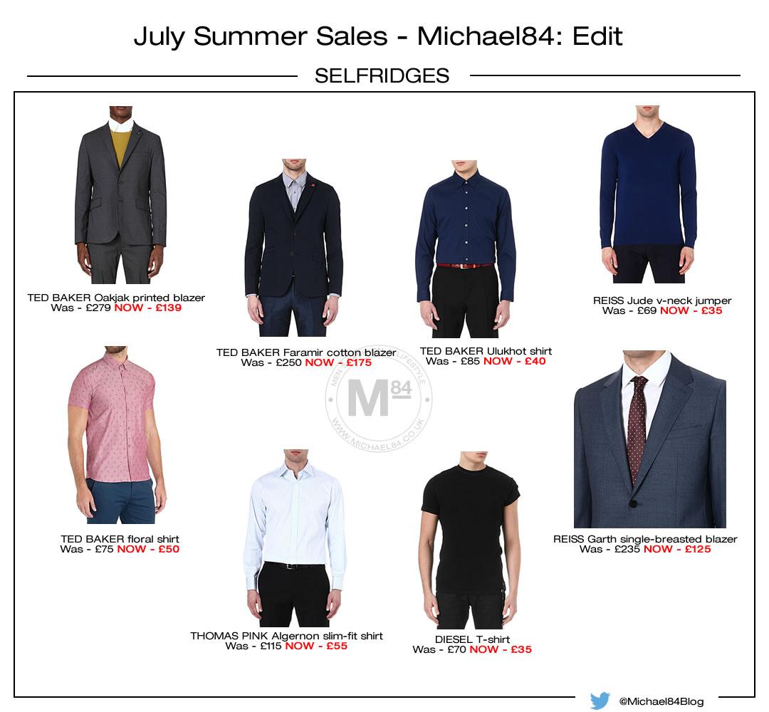 Selfridges Summer Sale - July 2014