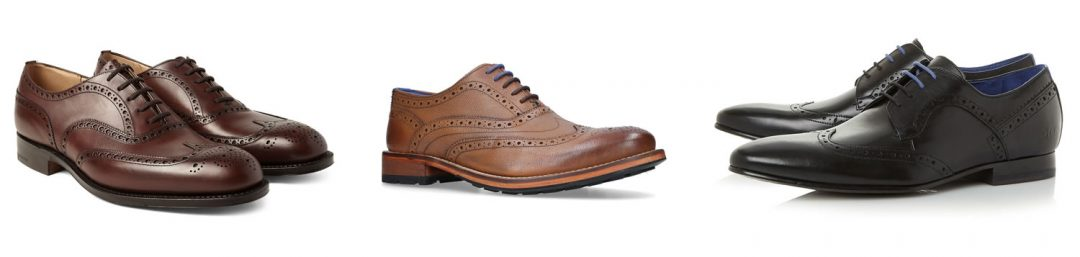 Brogues - For a smart casual look