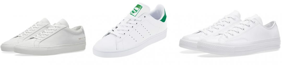 White Trainers - Perfect for the Summer