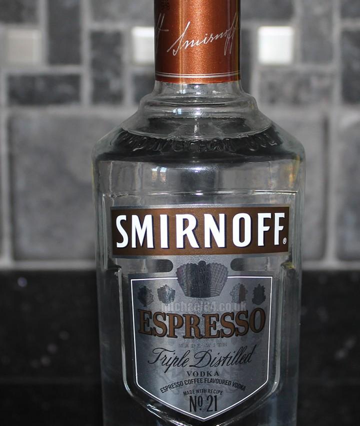 Smirnoff Espresso Vodka Michael 84