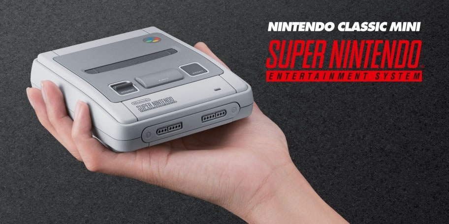 Super Nintendo Classic Mini Is Coming