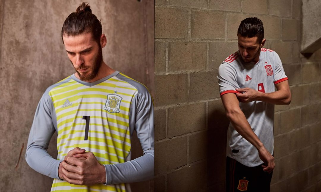 f894d2a91 Spain 2018 Away Kit   Goalkeeper Kit Unveiled