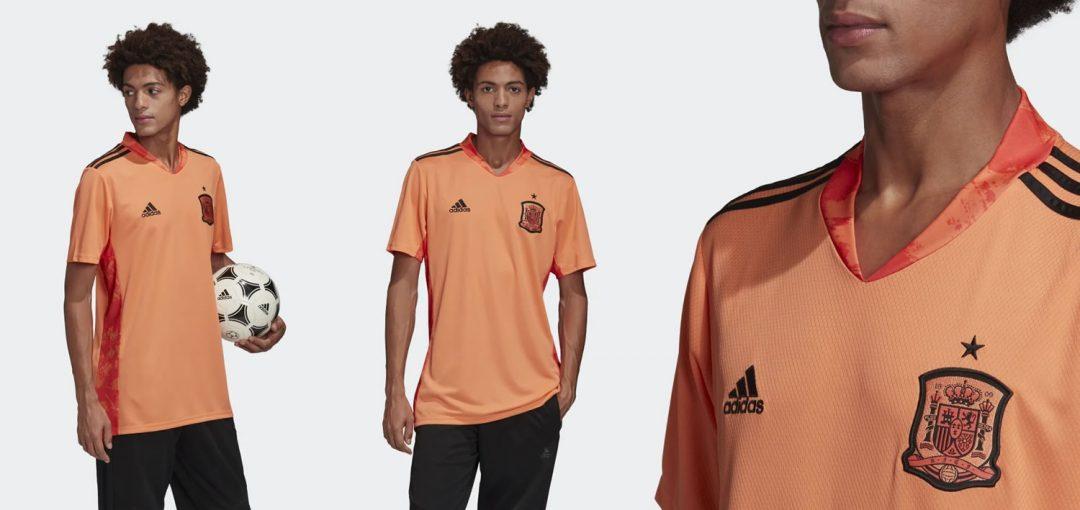 Spain 2020 Home Goalkeeper Shirt Is Orange