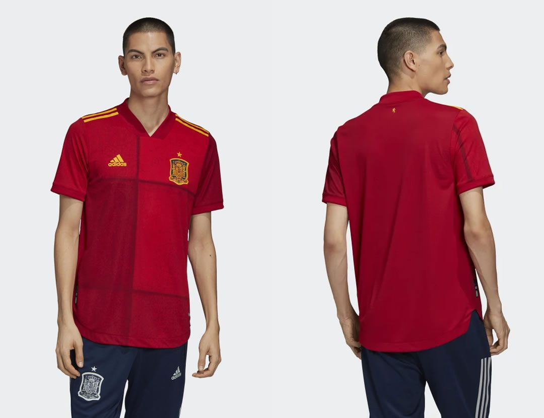 The Spain 2020 Home Shirt For Euro 2020 Is Horrible