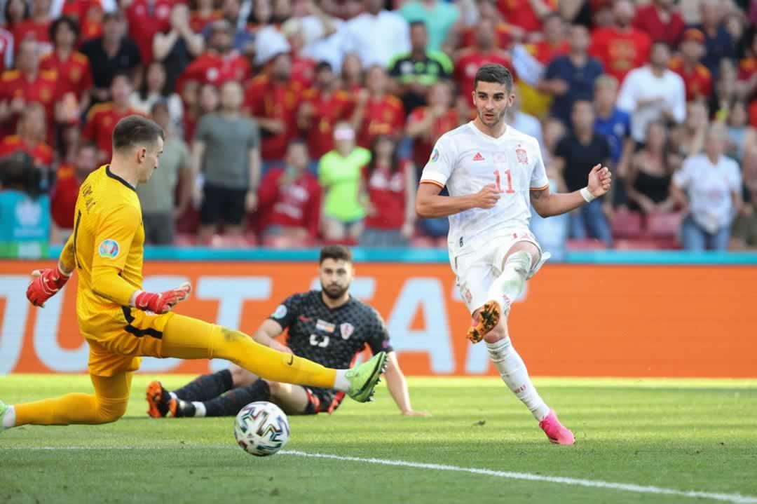 Michael 84 Euro 2020 match report of Spain 5 - 3 Croatia